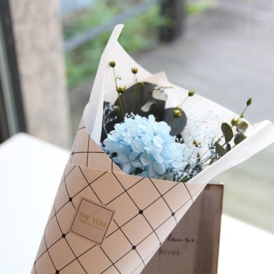 미니수국꽃다발 (3color 프리저브드)