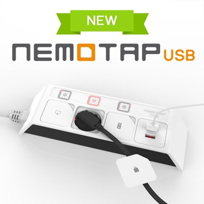 네모탭 USB 3구 3m 블랙_(1098271)