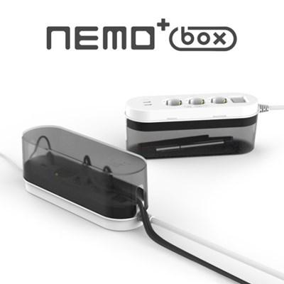 네모탭 PLUS 박스 USB 3구 3m 멀티탭_(1098269)