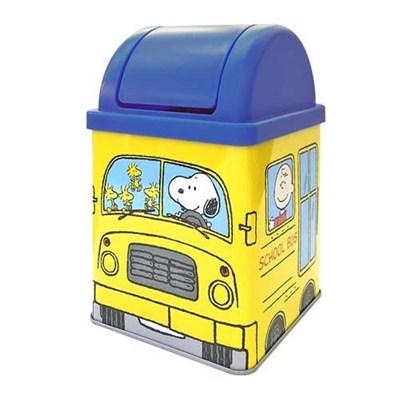 스누피 미니 버스 더스트 박스