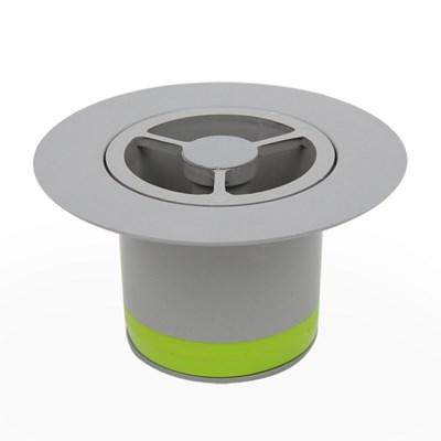 도원드레인 하수구냄새차단트랩 ABS 지름50mm