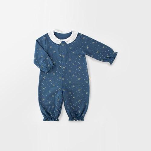 [메르베] 별밤여아 신생아 우주복/북유럽아기옷_사계절_(1103171)