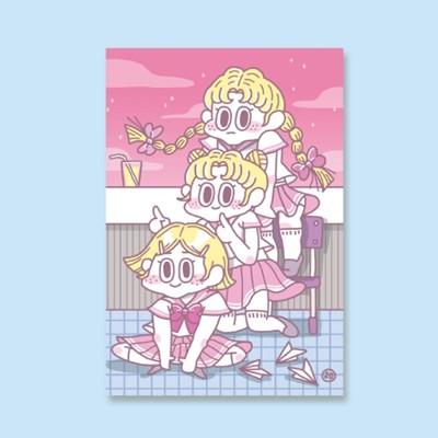 [LEEGONG] 엽서 - GIRL STUDENT 1