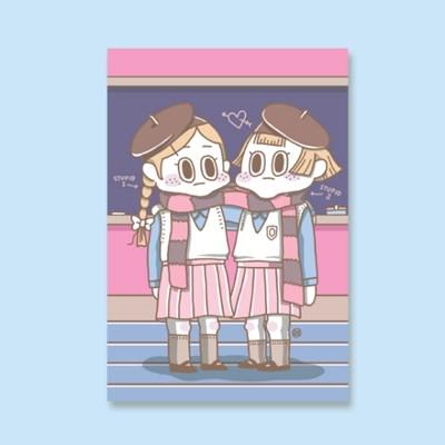 [LEEGONG] 엽서 - GIRL STUDENT 4