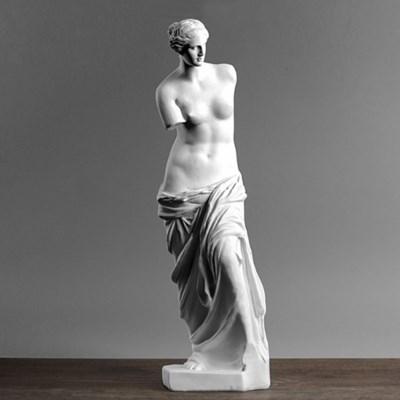 책상위에 비너스 석고상 모형 (29cm)