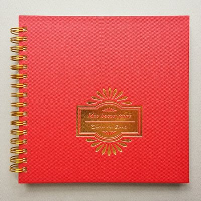 [에코드소울] Beautiful Days 6 Months Scheduler - Red