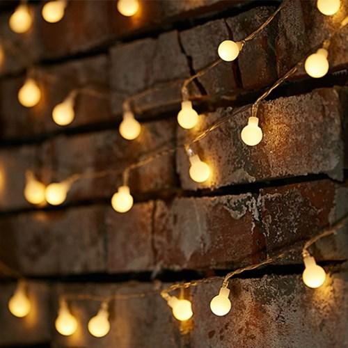 LED 인테리어 전구 4종 (건전지형 앵두전구 / 눈꽃전구)