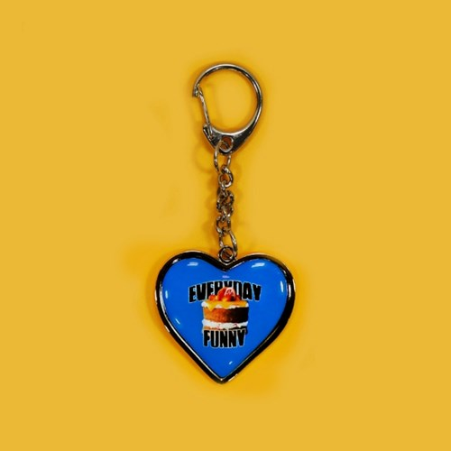 HEART STEEL KEY HOLDER_CAKE