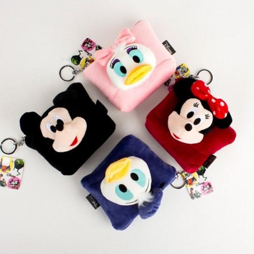 디즈니 인형 동전지갑 - 4종
