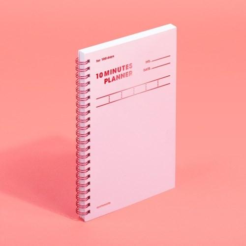 [모트모트] 텐미닛 플래너 100DAYS 컬러칩 - 로즈쿼츠 1EA
