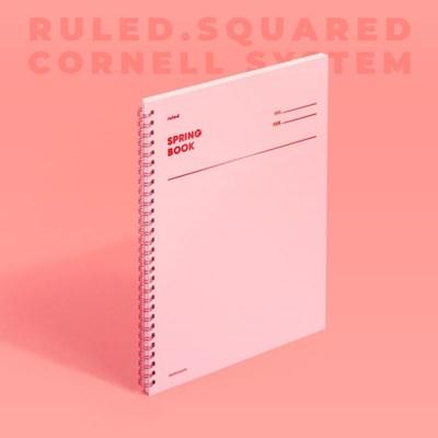 스프링북 - 로즈쿼츠 (룰드/스퀘어드/코넬시스템) 1EA