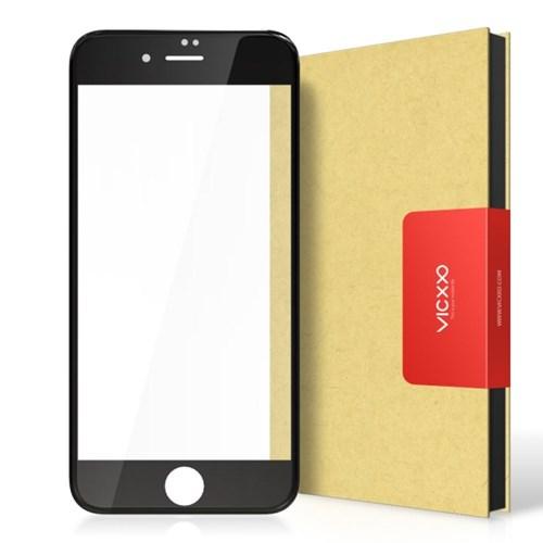 아이폰6 풀커버 강화유리 액정보호 필름 블랙