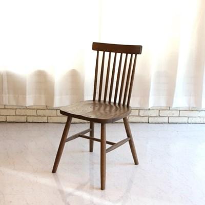 데니쉬 원목 월넛 의자_(684029)