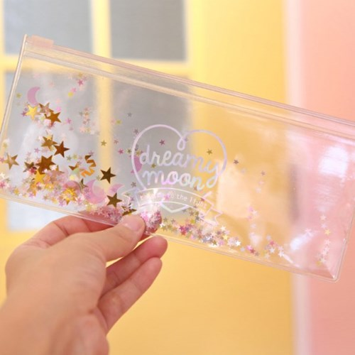 Pinky holic clear pouch_P_P_8.Glitter_Moon Crystal