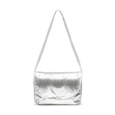 LOGGED ON LAPTOP BAG - METALLIC SILVER(노트북 가방)