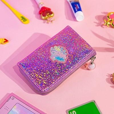 홀로그램 쉘 키홀더 지갑