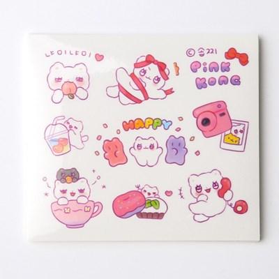 [솝찌] 핑크콩 스티커 (14p)