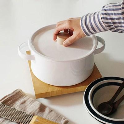 enamel basic pot