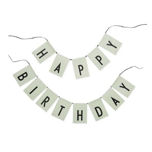 [디자인레터스]Happy Birthday 장식깃발-컬러선택_(840409)