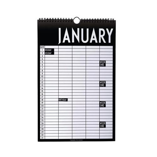[디자인레터스]월간 계획표(스티커포함)_(840399)