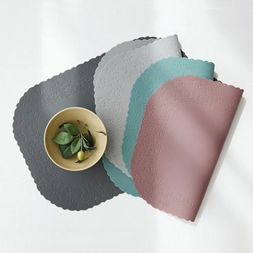 파스텔 실리콘 크라운 테이블매트(4color)_(1374589)