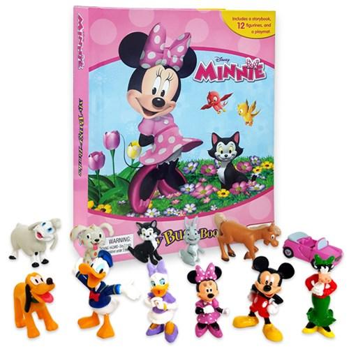 Disney Minnie : My Busy Books 피규어북