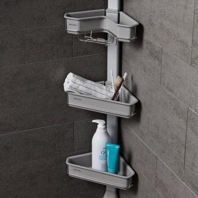 맥맨 다용도 욕실선반 3단 4단 5단 코너형 평면형
