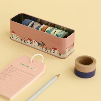 [한정] Masking tape 10p set - 01 A peaceful town