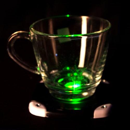 LED 발광 컵받침 (블랙)_(301609818)