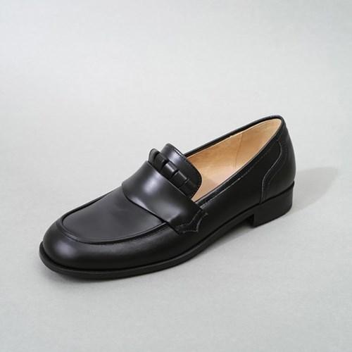 흰_HS1811 Black Loafer