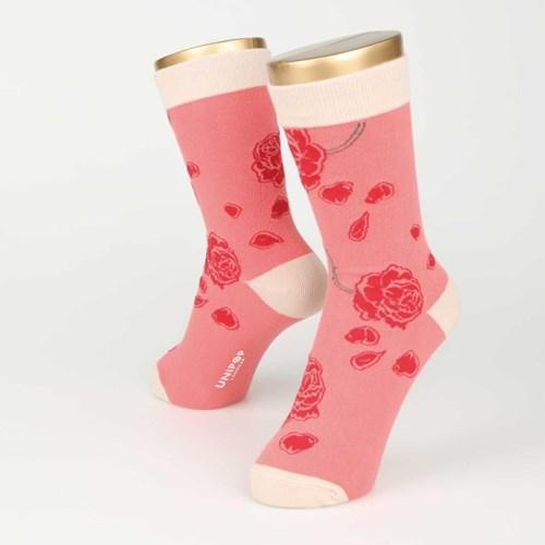 ROSE SOCKS (FOR WOMEN)