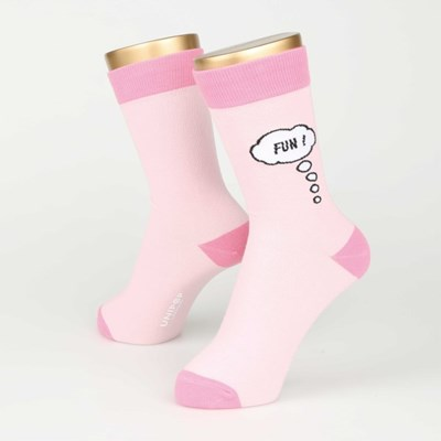 SPEECH BUBBLE SOCKS (FOR WOMEN)