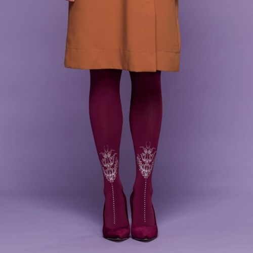 RETRO - redish purple