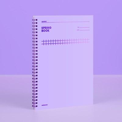 [컬러칩] 스프링북 스퀘어드 - 바이올렛