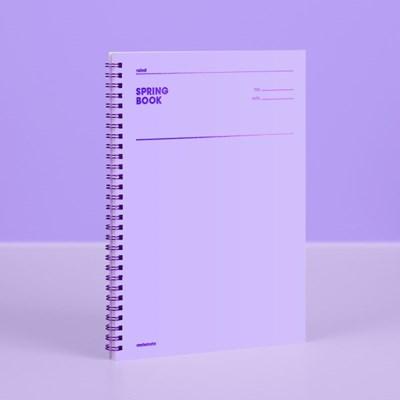 [컬러칩] 스프링북 룰드 - 바이올렛