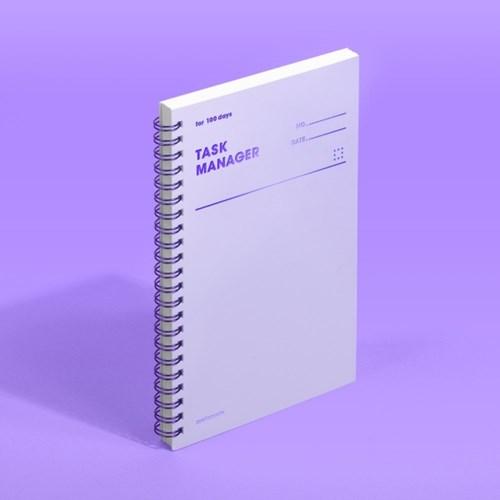 [모트모트] 태스크 매니저 100DAYS 컬러칩 - 바이올렛 1EA