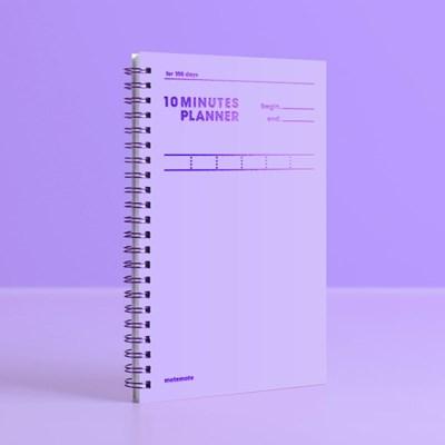 [컬러칩] 텐미닛 플래너 100DAYS - 바이올렛