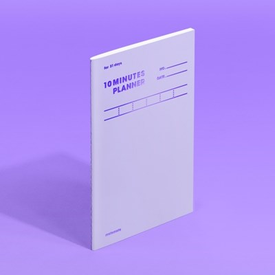 텐미닛 플래너 31DAYS - 바이올렛 1EA