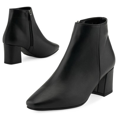 SPUR[스퍼] 앵클부츠 MF7019 Neat ankle boots 블랙
