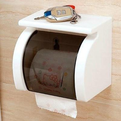 화장실 방수 매직 선반 두루마리 휴지 걸이