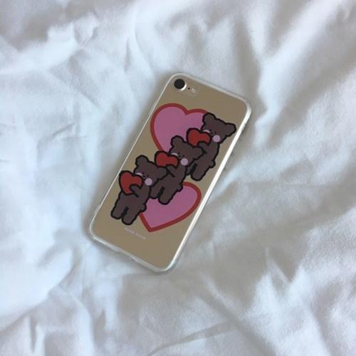 [뮤즈무드] give love (clear) 아이폰케이스
