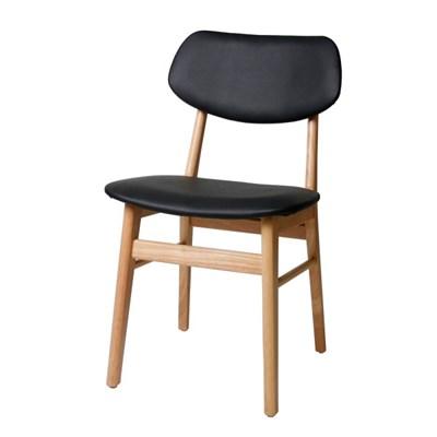 모던 허브 인테리어 원목 의자