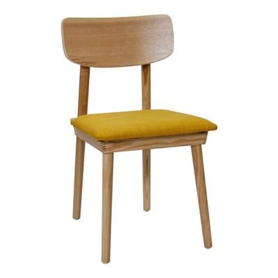 모던 포스 인테리어 원목 의자