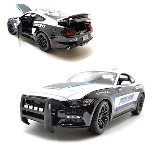 1:18 포드 머스탱 경찰차 GT 미니카