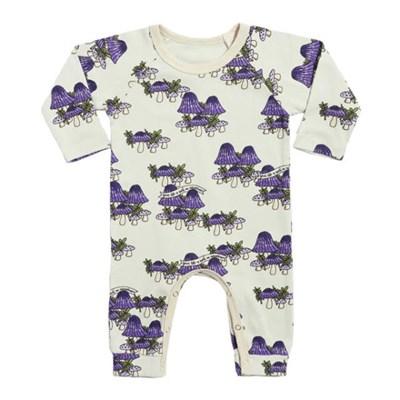 Mushrooms Purple Jumpsuit