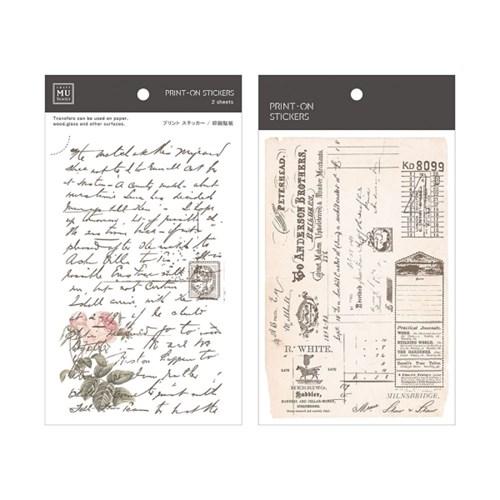 [MU] PRINT-ON STICKERS BPOP-001049