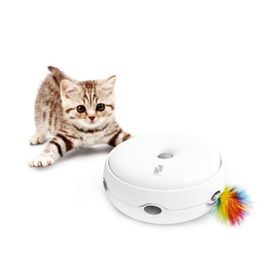 펫케어 스마트캣토이 움직이는 고양이 자동 장난감