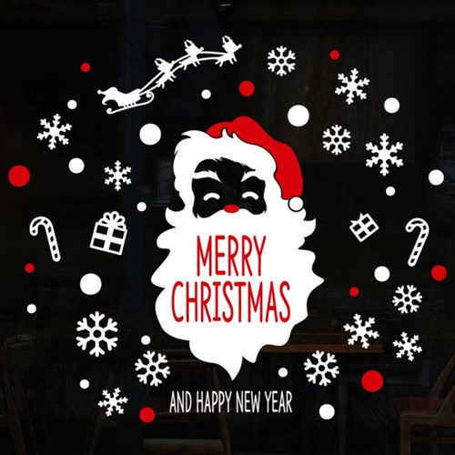 cmi273-산타의 메리크리스마스-크리스마스스티커