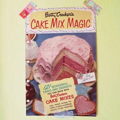 빈티지 미니 포스터 :: cake mix