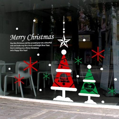 제제데코 크리스마스 눈꽃 스티커 장식 CMS4J027_(837113)